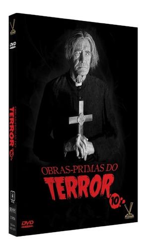 dvd obras-primas do terror 10 s/cards versatil bonellihq l19