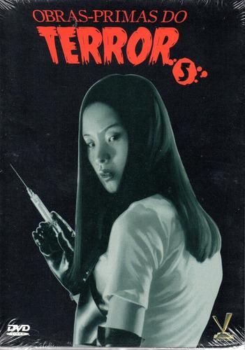 dvd obras-primas do terror 5 s/cards versatil bonellihq z20