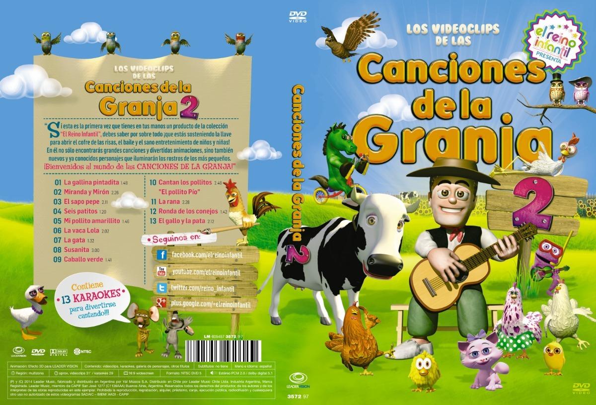 Dvd Oficial Las Canciones De La Granja De Zenón Vol 2