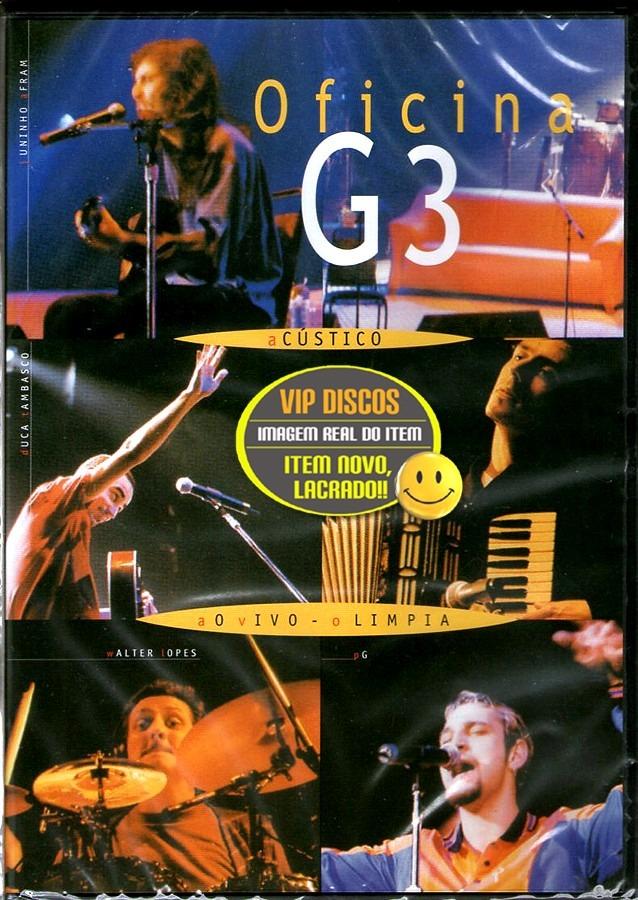 dvd oficina g3 acustico avi
