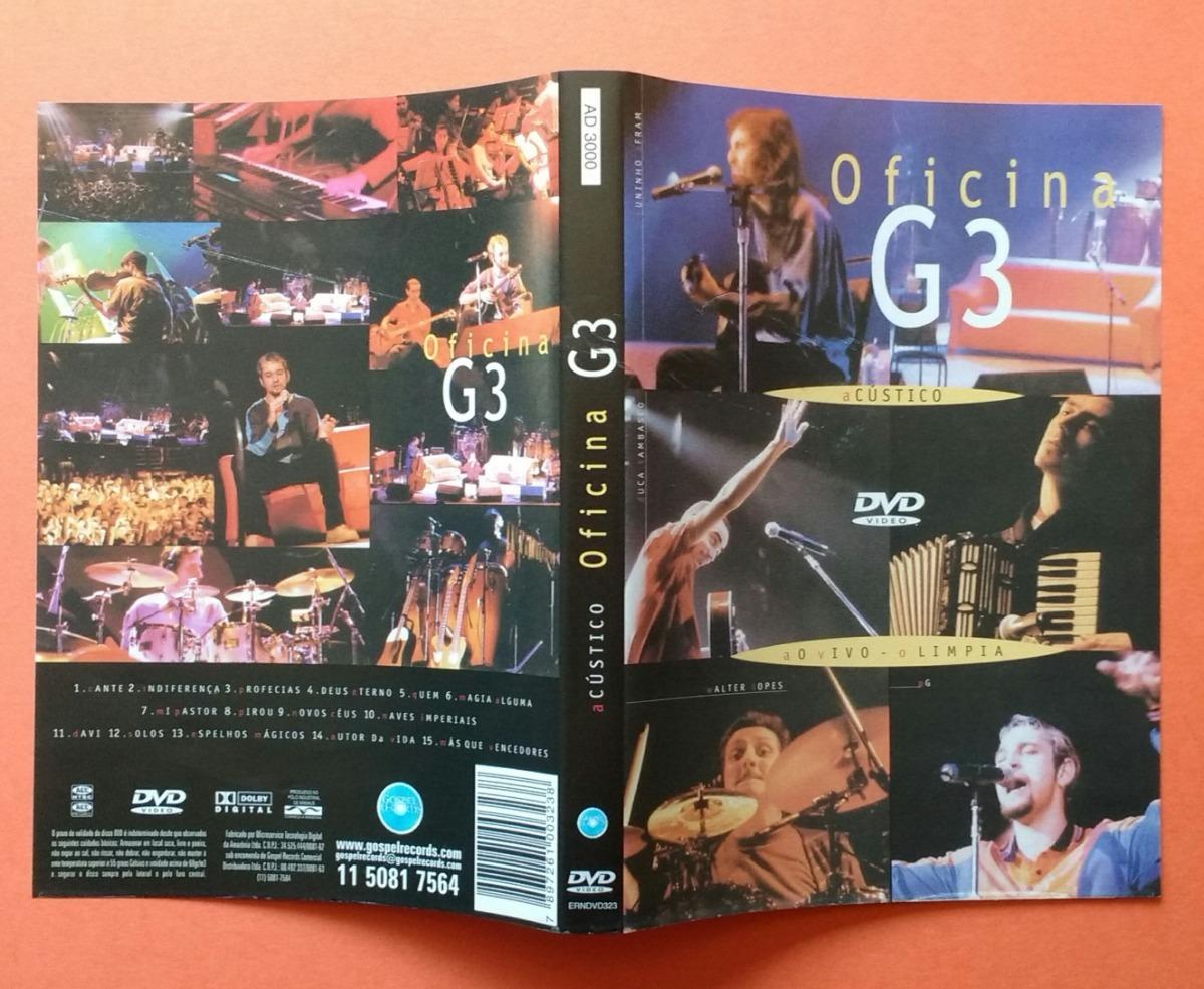 dvd oficina g3 acustico vivo