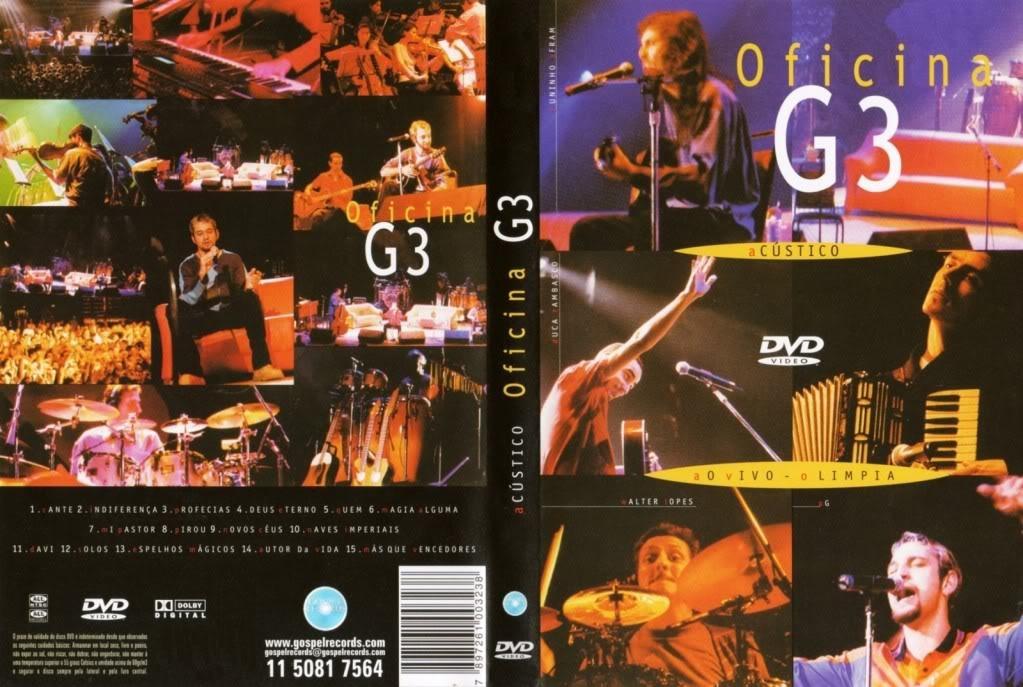 dvd oficina g3 acustico