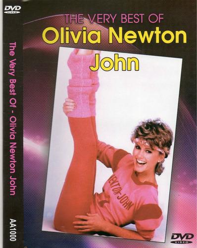 dvd olivia newton john - the best of original lacrado pronta
