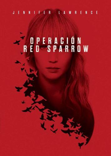 dvd operacion red sparrow  estreno original nueva cerrada