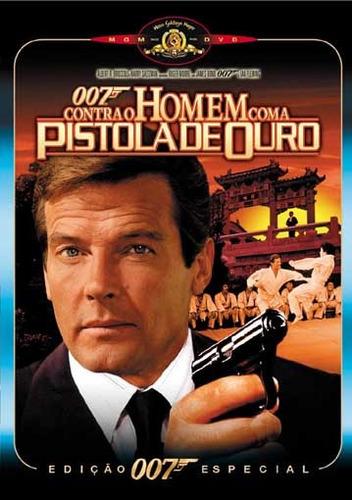 dvd original 007 contra o homem com a pistola de ouro