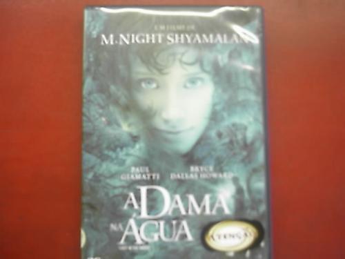 dvd original   a dama na água
