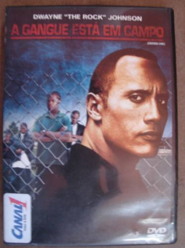dvd original a gangueestá de volta com dwayne the rock johns