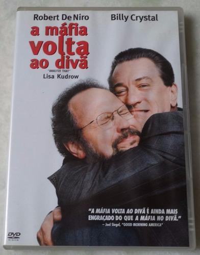 dvd original a mafia volta ao divã