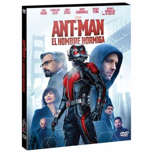 dvd original ant-man hombre hormiga - marvel avengers vengad