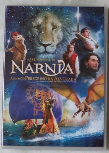 dvd original as cronicas de narnia o peregrino da esp. novo