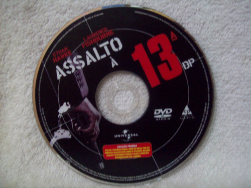 dvd original assalto à 13º dp
