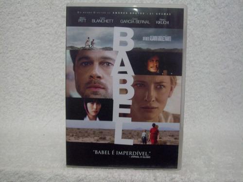 dvd original babel- com brad pitt