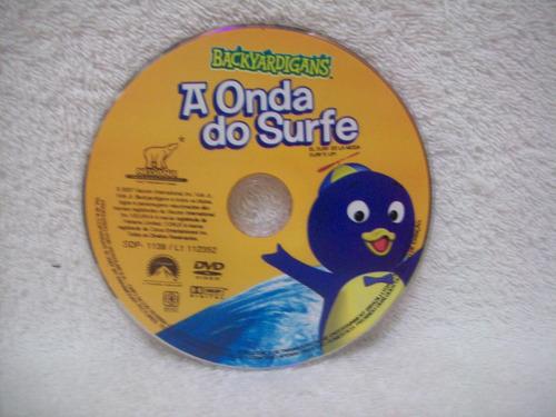 dvd original backyardigans- a onda do surfe