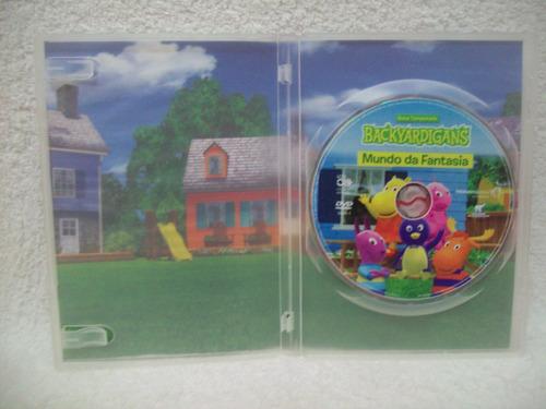 dvd original backyardigans- mundo da fantasia