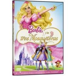 dvd original: barbie y las tres mosqueteras - navidad iphon