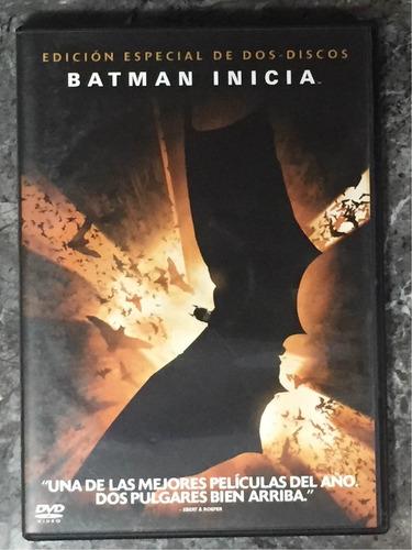 dvd original batman inicia edicion especial zona 4