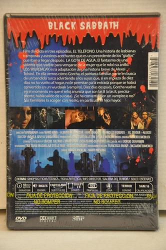 dvd original black sabbath - mario bava - sellada!