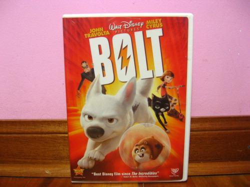 dvd original, bolt /zona 1/ en español