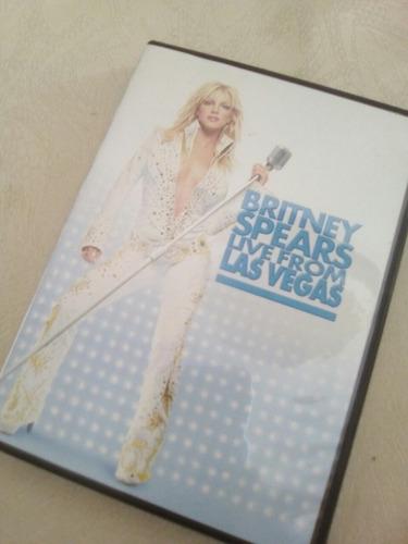 dvd original britney spears live from las vegas (nuevo)