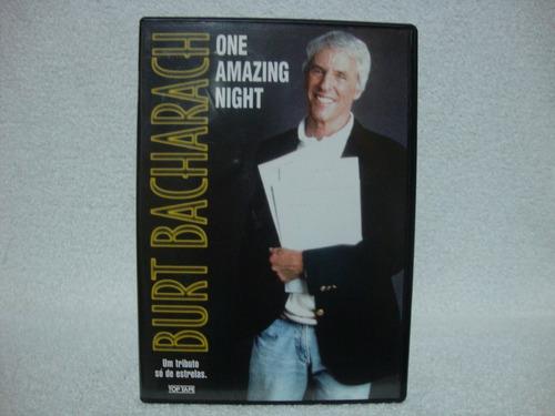 dvd original burt bacharach- one amazing night