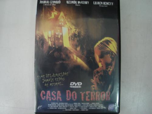 dvd original  casa do terror