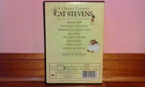 dvd original, cat stevens / tea for the tillerman live