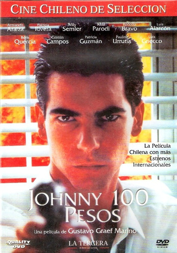 dvd original cine chileno : johnny cien pesos - 100 pesos
