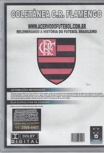 dvd original clube de regatas flamengo vl.16 (cx 22) ok