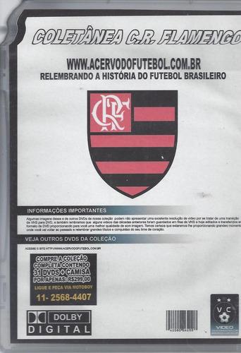 dvd original clube de regatas flamengo  vl.7 (cx 22) ok