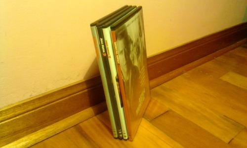 dvd original, colección/ arma mortal 1,2,3,4.