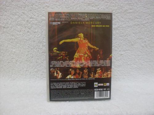 dvd original daniela mercury- balé mulato ao vivo