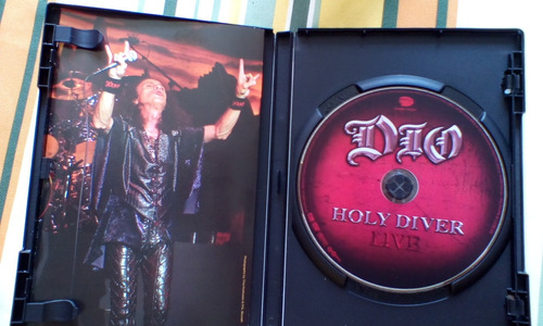 dvd original de dio holy diver