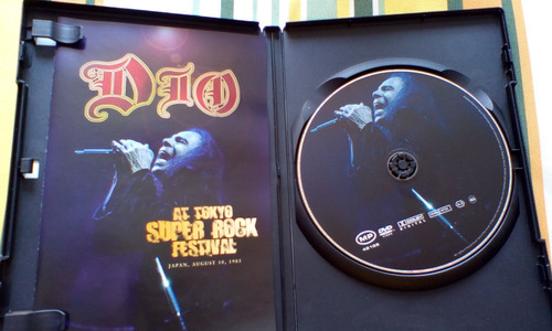 dvd original de dio super rock festival