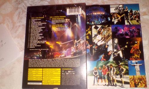 dvd original de iron maiden.  rock in rio .