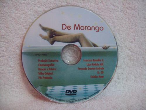 dvd original de morango- daniel dantas e fernanda rodrigues