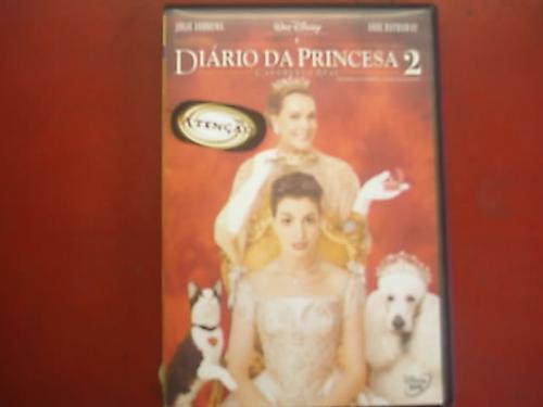 dvd original    diário da princesa 2