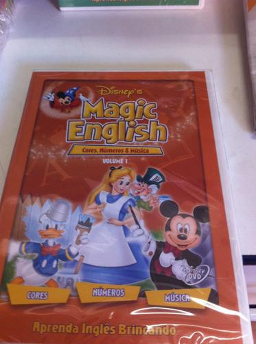 dvd original disney's magic english vol 1 (lacrado)