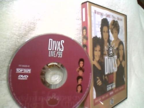 dvd original ( divas live ) 1999 - impecável