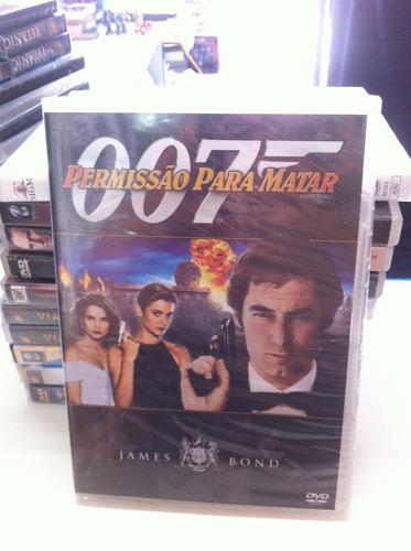 dvd original do filme 007 - permissão para matar (lacrado)