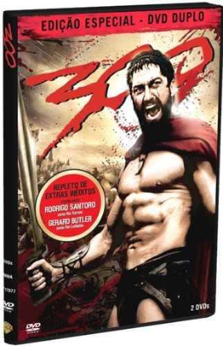 dvd original do filme 300 (duplo)