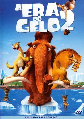 dvd original do filme  a era do gelo 2
