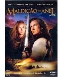 dvd original do filme a maldição do anel