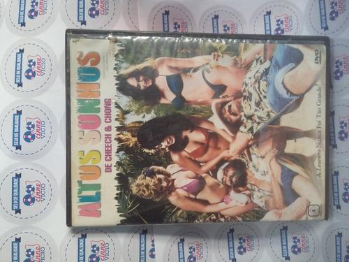 dvd original do filme altos sonhos de cheech e chong