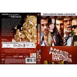 dvd original do filme assalto ao banco central (lima duarte)