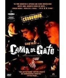 dvd original do filme cama de gato (caio blat)