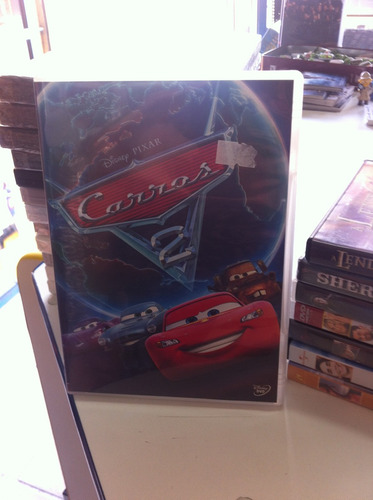 dvd original do filme carros 2 (lacrado)