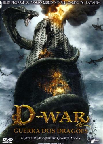 dvd original do filme d-war guerra dos dragões