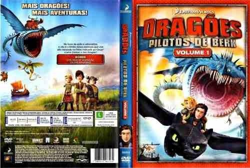 dvd original do filme dragões - pilotos de berk. volume 1.