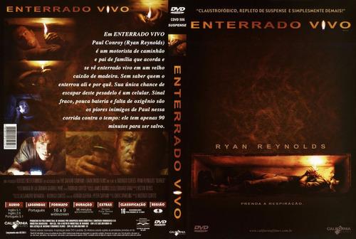 dvd original do filme enterrado vivo (ryan reynolds)