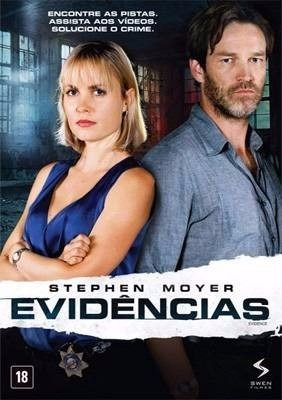 dvd original do filme evidências (stephen moyer)
